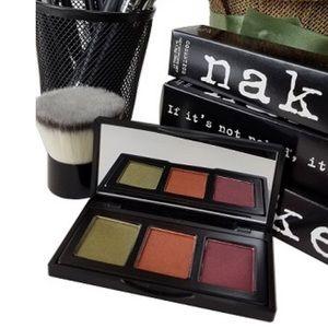 Naked Cosmetics Urban Rustic Shadow Trio NIB